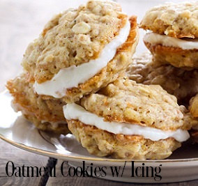 OATMEAL COOKIE WITH ICING