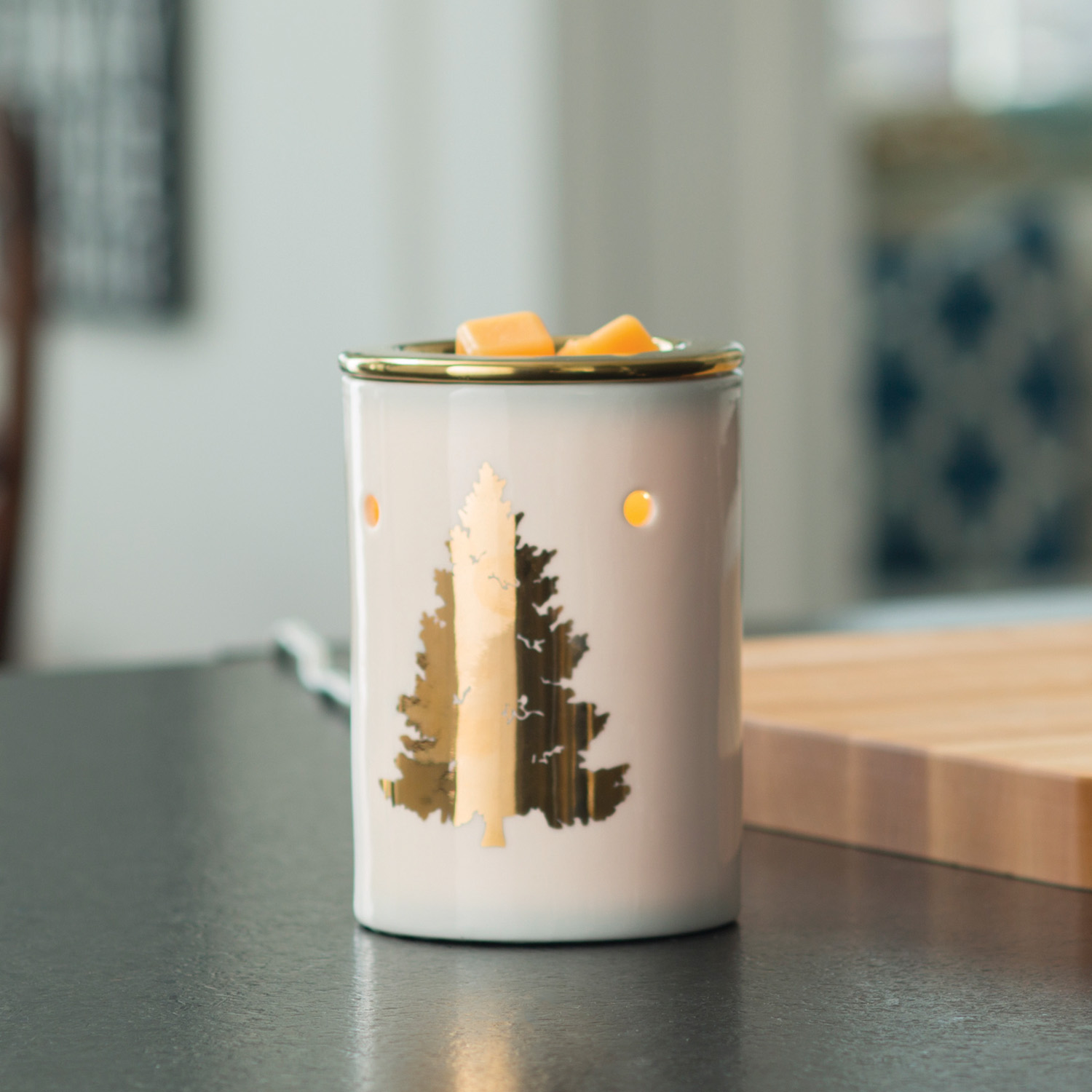 golden fir wax melt warmer clone