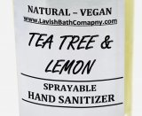 HAND SANITIZER NATURAL VEGAN