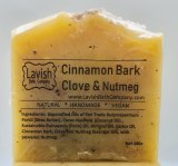 CINNAMON BARK - ClOVE - NUTMEG  SOAP BAR
