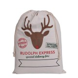 RUDOLPH NORTH POLE SANTA SACK