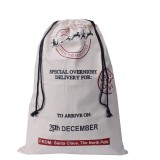 SANTA WHITE OVERNIGHT DELIVERY  SANTA SACK