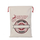 NORTH POLE POST OFFICE SANTA SACK