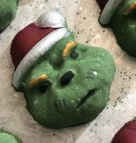 THE GRINCH BATH BOMB