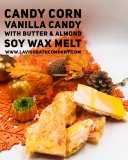 CANDY CORN SOY WAX BRITTLE