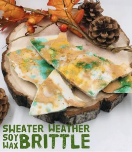 SWEATER WEATHER SOY WAX BRITTLE